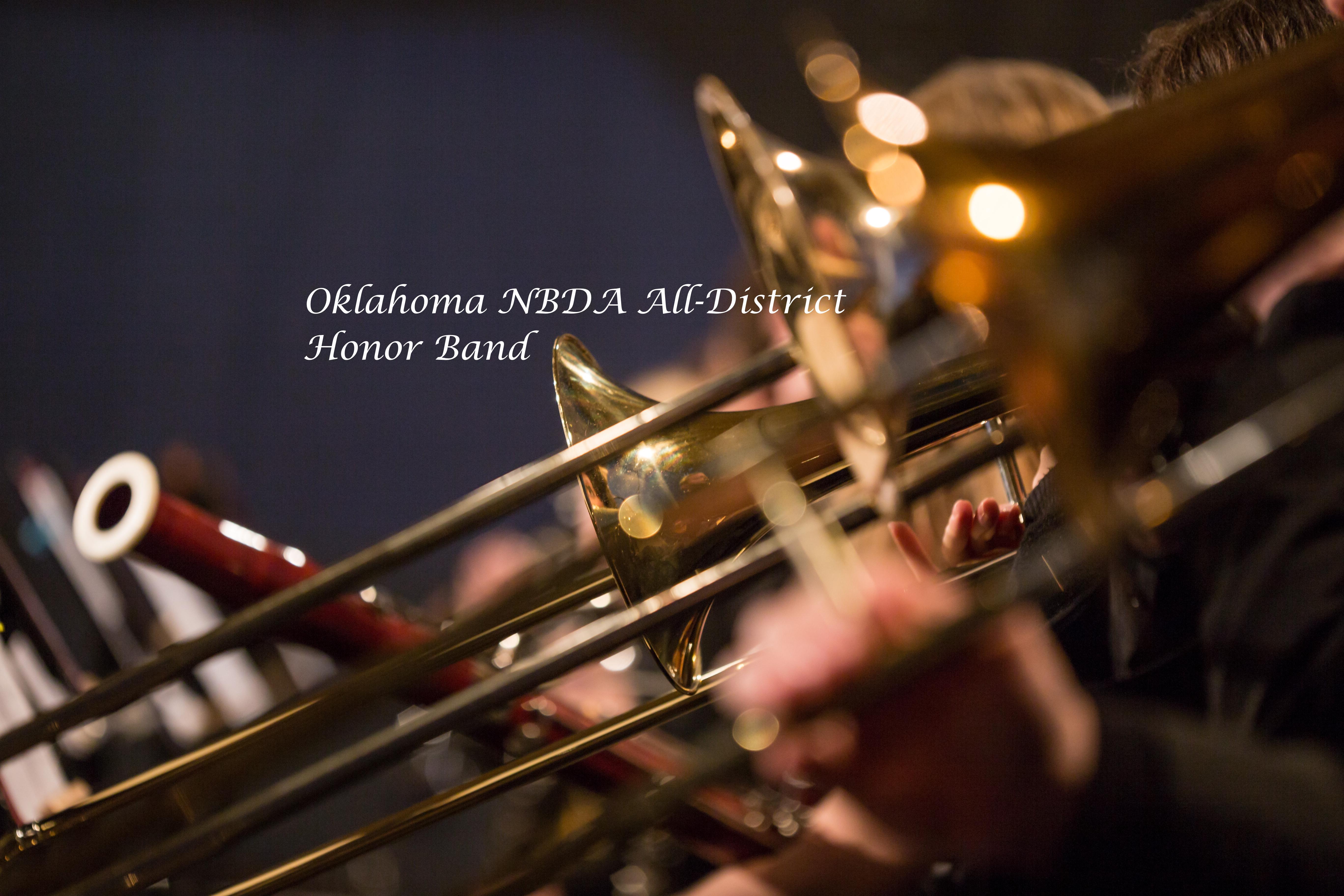 Oklahoma NBDA All-District Honor Band